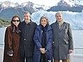 Néstor y Cristina Kirchner con los Reyes de España en El Calafate 03.jpg