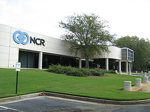 English: Office building of NCR Corporation in...