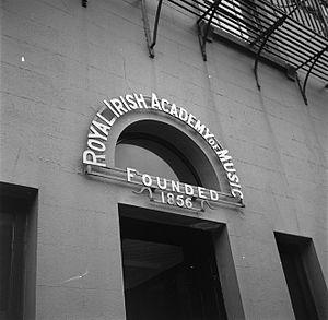 Royal Irish Academy of Music - Image: NL Royal Irish Academy of Music, Dublin 1946