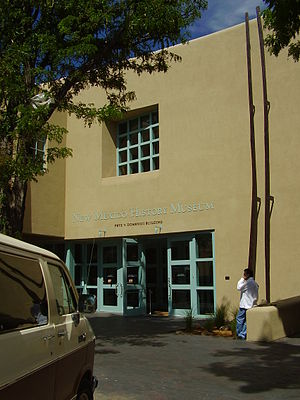 New Mexico History Museum - Museum entrance