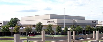 Dillard's - The exterior of a Dillard's flagship department store at Dallas' NorthPark Center.