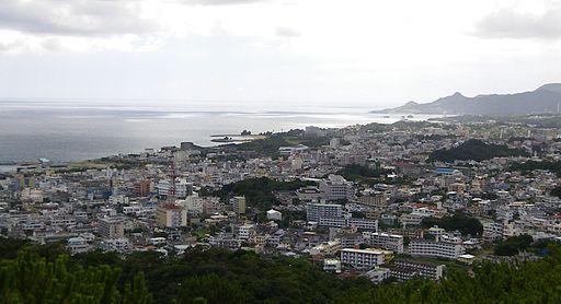 Nago cityscape