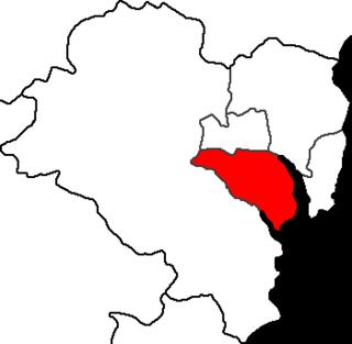 Nam District, Ulsan Autonomous District in Yeongnam, South Korea