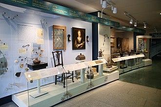 Nantucket Whaling Museum - Image: Nantucket Timeline in Museum