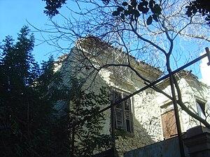 Napoleon Lapathiotis - Lapathiotis house in Exarcheia
