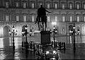 Napoli, Piazza Plebiscito di notte, anni '30.jpg