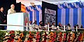Narendra Modi delivering the inaugural address at the 21st International Conference on Frontiers in Yoga Research and its Applications (INCOFYRA), in Bengaluru, Karnataka. The Governor of Karnataka.jpg