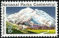 National Parks Centennial Mount McKinley 15c 1972 issue U.S. stamp.jpg