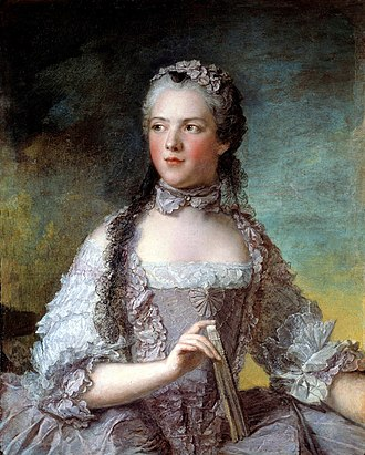 Adélaïde of France (1732–1800) - Madame Adélaïde de France (1749) by Jean-Marc Nattier