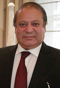 File photo of Nawaz Sharif in 2014.  Image: DFID - UK Department for International Development.