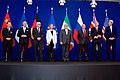 Negotiations about Iranian Nuclear Program - the Ministers of Foreign Affairs and Other Officials of the P5+1 and Ministers of Foreign Affairs of Iran and EU in Lausanne.jpg