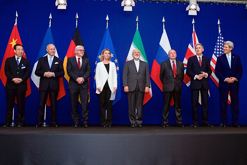 File:Negotiations about Iranian Nuclear Program - the Ministers of Foreign Affairs and Other Officials of the P5+1 and Ministers of Foreign Affairs of Iran and EU in Lausanne.jpg