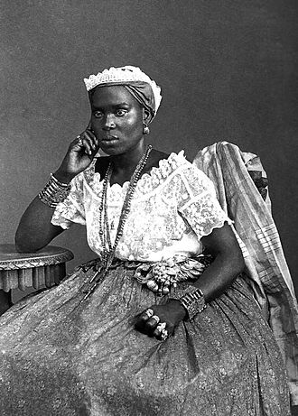 Brazilians in Nigeria - Bahia woman, 1885