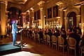 Neil M. Gorsuch, Associate Justice of the Supreme Court of the United States, addresses the Academy members and Marshall Scholars at historic Blenheim Palace in Oxfordshire, England, during the 2017 International Achievement Summit.jpg