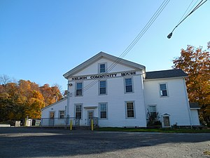 Nelson Township, Portage County, Ohio - The former Nelson Academy is now a community center