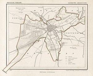 Amersfoort - Amersfoort in 1865.
