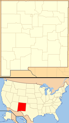 Nageezi is located in New Mexico