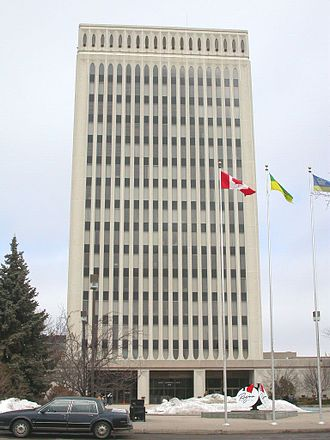 Regina City Council - Regina City Hall - Queen Elizabeth II Court