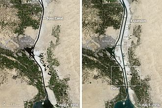 New Suez Canal - Old and New Suez Canal