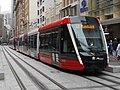 New trams operating in George street Sydney CBD - late December 2019 - 49281061742 (cropped).jpg