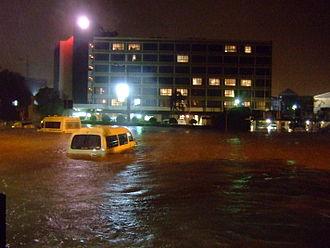 Floods in Australia - Flooding in Newcastle in 2007