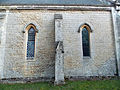 Newgate Street, Hertfordshire, St Mary's Church 11 - nave north windows at the west.jpg