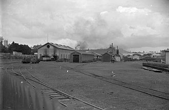 Newmarket Workshops - The workshops in 1909.