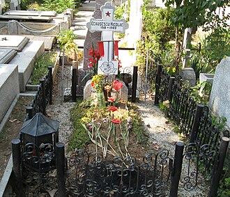 Ghencea Cemetery - Image: Nicolae Ceaușescu Mormant