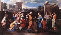 Nicolas Poussin - Rebecca at the Well - WGA18327.jpg