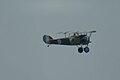 Nieuport 27 FlyBy 01 ThruDirtyWindow Dawn Patrol NMUSAF 26Sept09 (14413481397).jpg