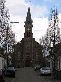 Nieuw- en Sint Joosland Place in Zeeland, Netherlands