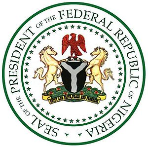 Shehu Shagari - Seal of the President of the Federal Republic of Nigeria
