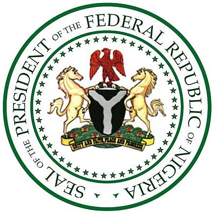 Seal of the President of the Federal Republic of Nigeria Nigerian-Presidential-Seal1.jpg