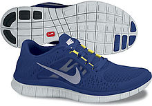 Picture of Nike Free+ 3 running shoe