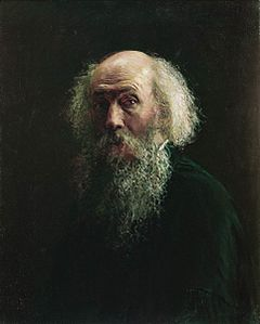 Nikolay Ge selfportrait