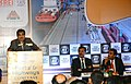 Nitin Gadkari addressing at a special session on 'Ports and Highways Conclave – 2014', organised by the Indian Chamber of Commerce, in Kolkata on December 23, 2014.jpg