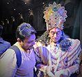 """Nitish Bhardwaj in Kolkata during Atul Satya Koushik's play """"Chakravyuh"""".jpg"""