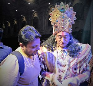 Nitish Bharadwaj - Nitish Bharadwaj in Kolkata during Atul Satya Koushik's play Chakravyuh
