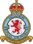 "No.602 Squadron ""City of Glasgow"" Unit Badge.png"