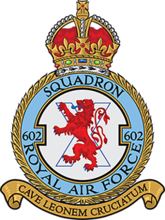 No. 602 Squadron RAF Squadron of the Royal Air Force