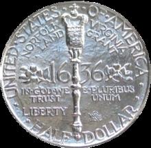 Norfolk bicentennial half dollar commemorative reverse.png