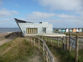 Chapel St Leonards - Image: North Sea Observatory Chapel Point north side