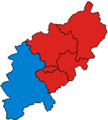 NorthamptonshireParliamentaryConstituency2001Results.png