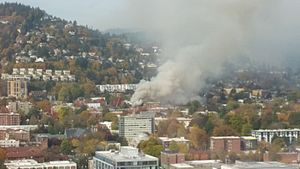 Northwest District Explosion - Image: Northwest Portland explosion 2