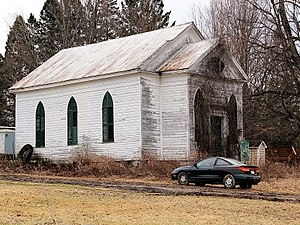 Norway Baptist Church - Image: Norway NY One of the oldest Churches in Herkimer County