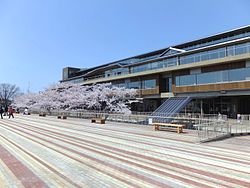 Noshiro City Hall and Sakura Terrace 20170421b.jpg