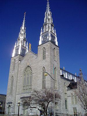 Notre-Dame Cathedral Basilica (Ottawa) - Image: Notre Dame Ottawa