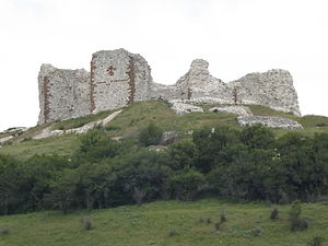 Siege of Novo Brdo (1440–41) - Remnants of the Novo Brdo Fortress
