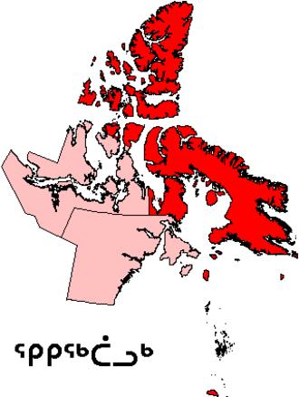 Qikiqtaaluk Region - Image: Nunavut Qikiqtaaluk Region