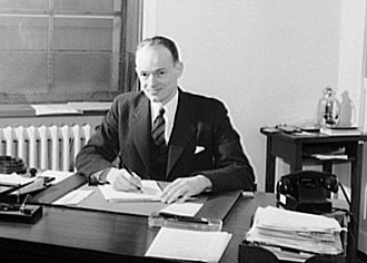 John Sloan Dickey - John S. Dickey, Chief of the Planning Division and Special Assistant to Nelson Rockefeller, Office of the Coordinator of Inter-American Affairs (1940)